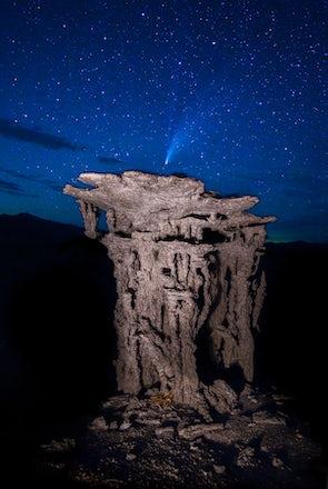 Neowise comet, Tufa