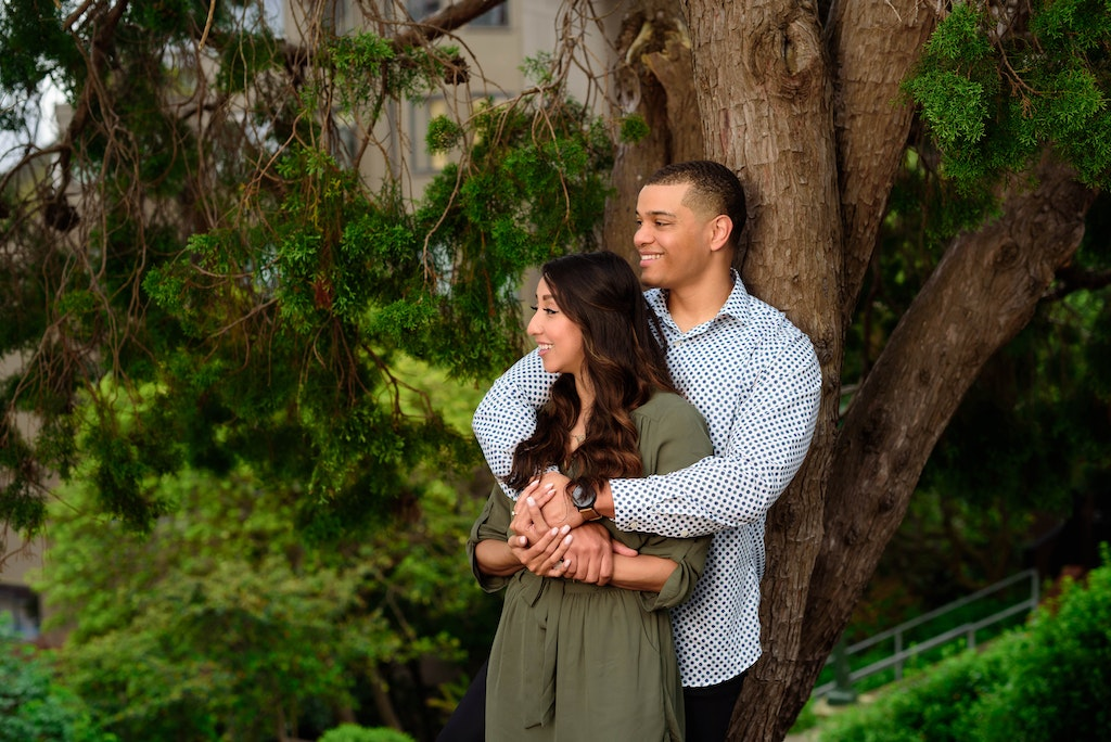 The Engagement of Kenny and Veronica-1