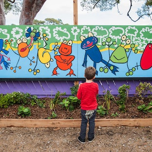 4 yr old Kinder - All print sales will be donated back to the Mallacoota kinder!