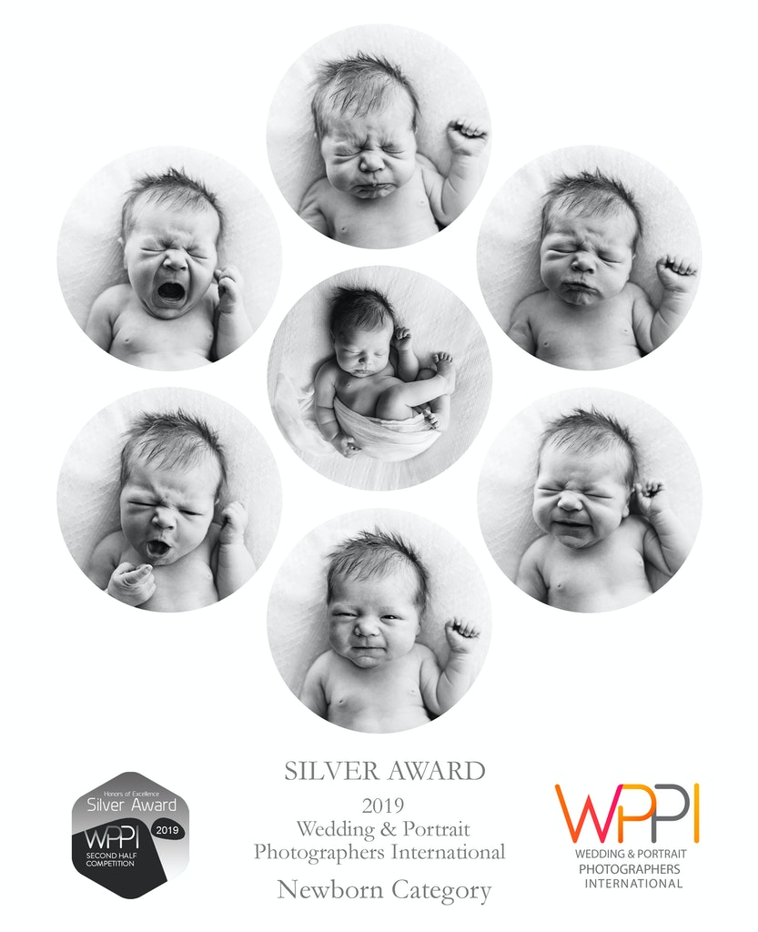 Silver Award WPPI 2019 Newborn Category