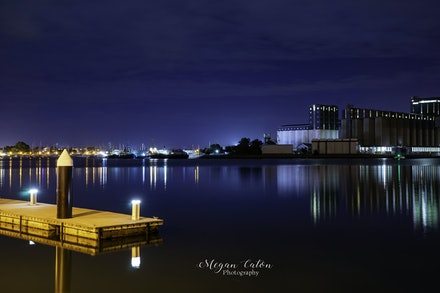 Newcastle Harbour Lights