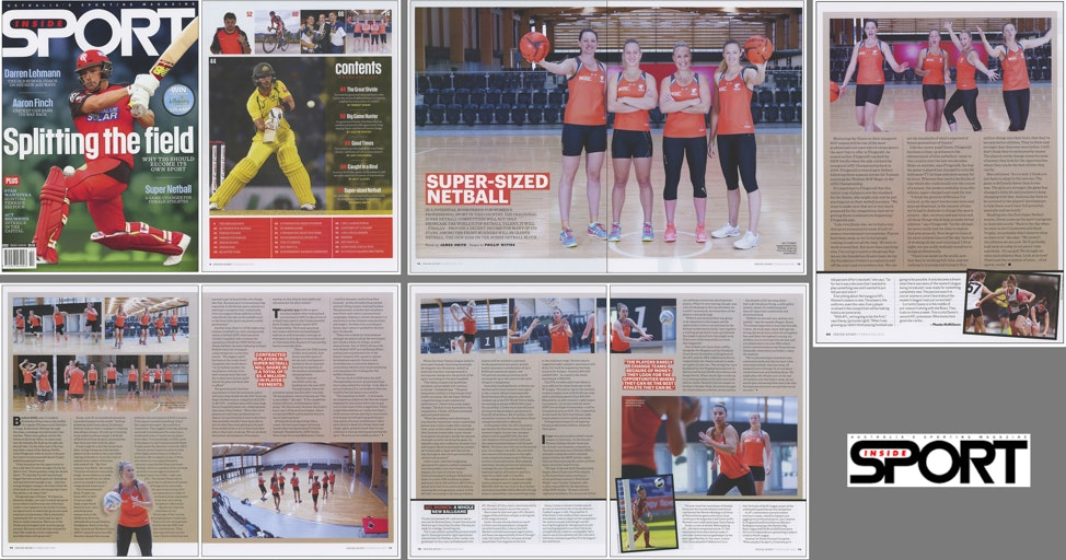 Inside Sport Magazine - NSW Giants Netball