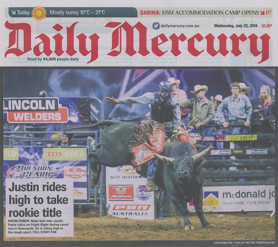 Daily Mercury - Justin Paton