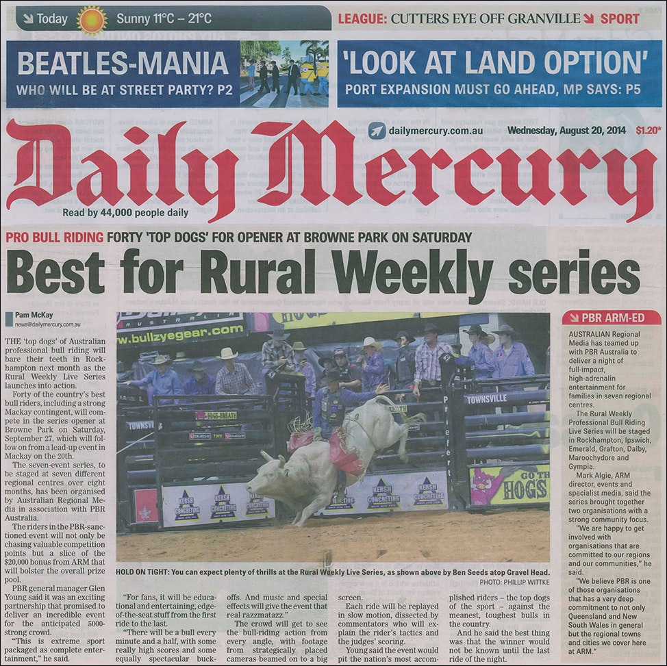 Daily Mercury - Ben Seeds