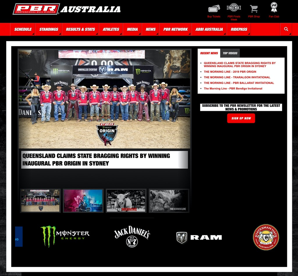 PBRA Home Page