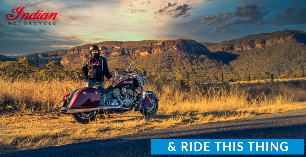 Ride Indian