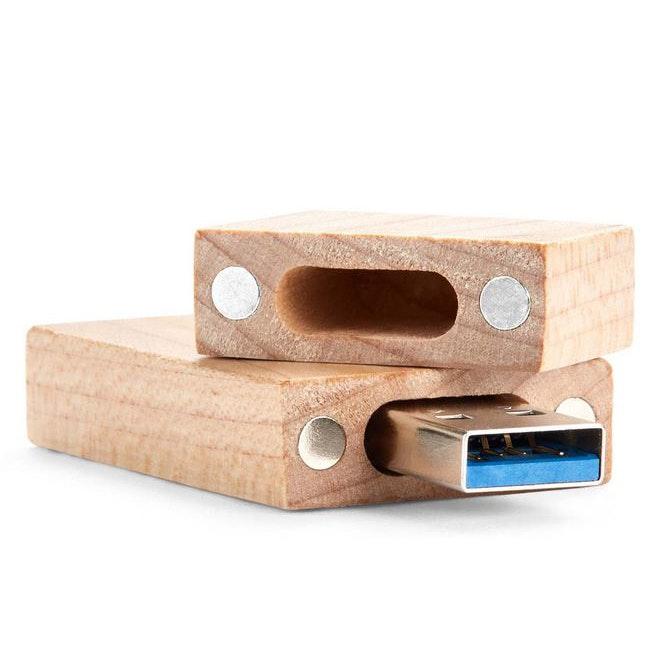 USB Wood Lid