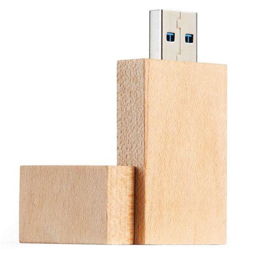 USB Wood Plain