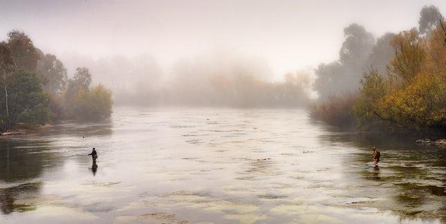 2 foggy fishermen
