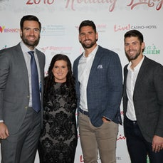 Holiday Party with Joe Flacco and teammates