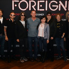 Foreigner VIP Meet & Greet 3-22-2019