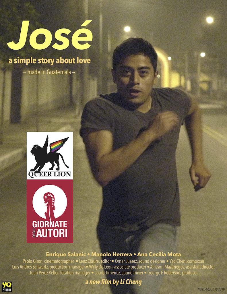 JOSE poster Venice Queer Lion winner YQstudioLLC