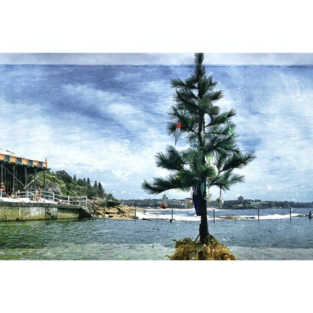 Wylies Panorama - • 60 x 20 cm (24 x 8) mounted under 6mm acrylic, ready to hang. • Archival art print, signed, 1/1