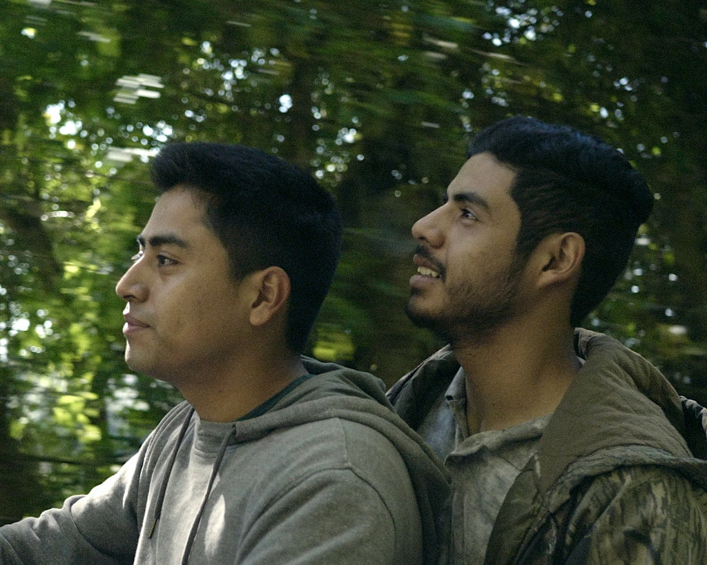 18140-005-JoseArticle5x4 - Lead actors in JOSE, (left) Enrique Salanic and Monolo Herrera. Scene from the movie. (supplied)