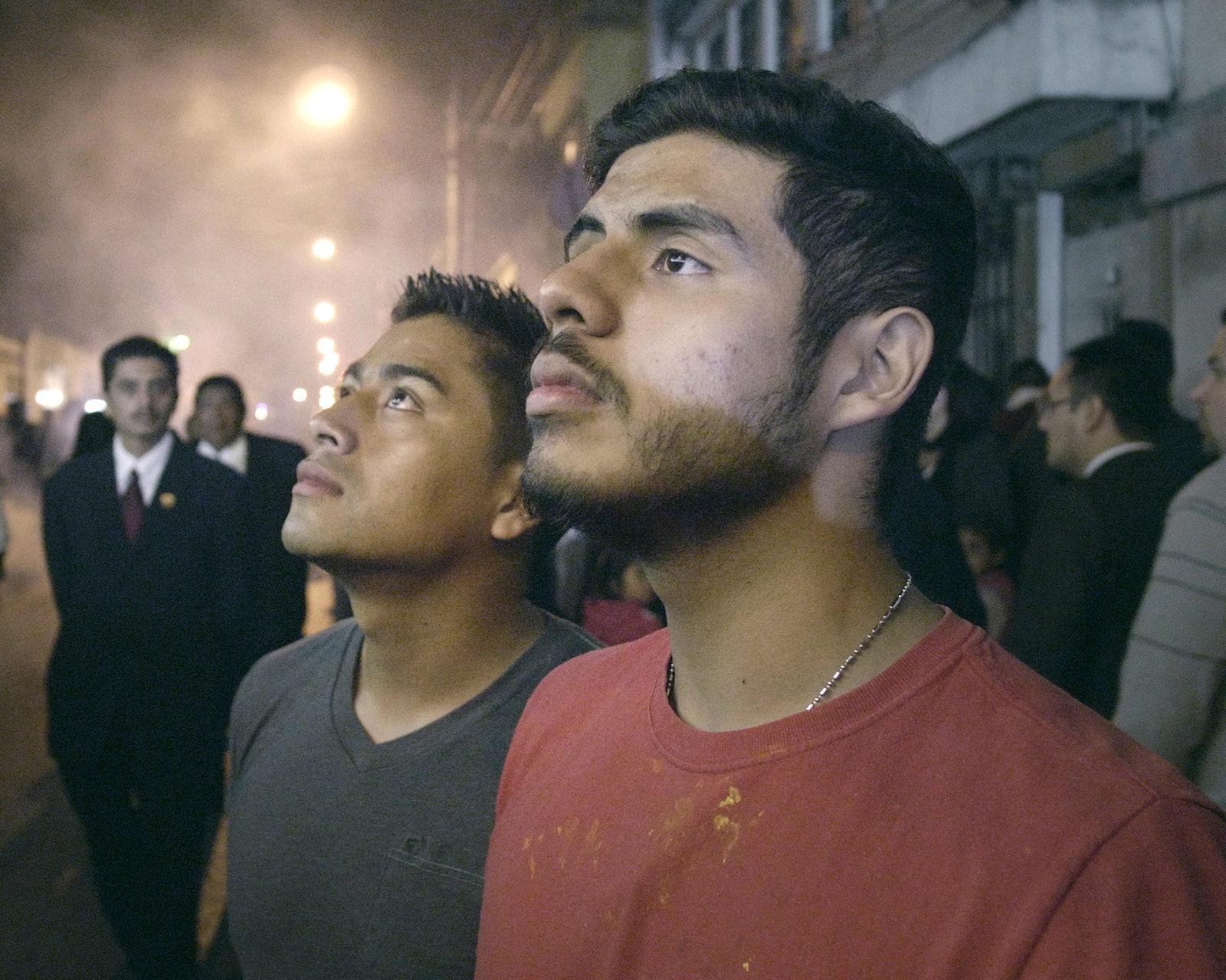 18140-007-JoseArticle - Lead actors in JOSE, (left) Enrique Salanic and (right) Monolo Herrera.  Scene from the movie. (supplied)
