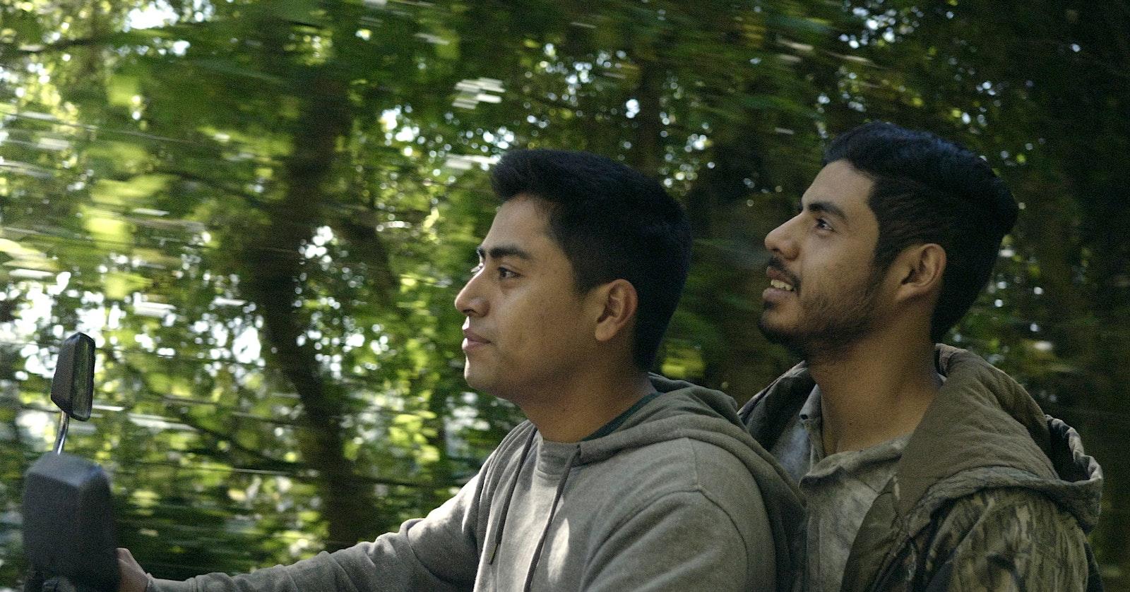 18140-009-JoseArticle - Lead actors in JOSE, (left) Monolo Herrera and (right) Monolo Herrera. Scene from the movie. (supplied)