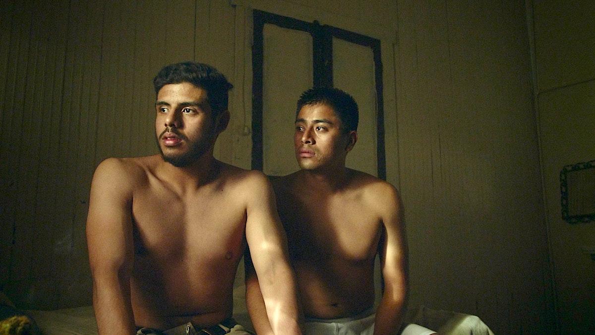18140-027-JoseArticle - Lead actors in JOSE, (left) Monolo Herrera and Enrique Salanic. Scene from the movie. (supplied)