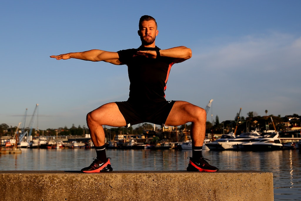 Dancer Heath Keating Records Videos For Social Media Followers S - SYDNEY, AUSTRALIA - APRIL 21: Dancer, instructor and musical theatre performer Heath...