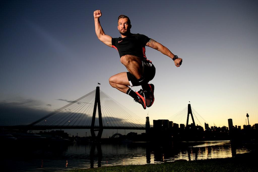 Dancer Heath Keating Records Videos For Social Media Followers S - SYDNEY, AUSTRALIA - APRIL 21: Dancer, instructor and musical theatre performer Heath...