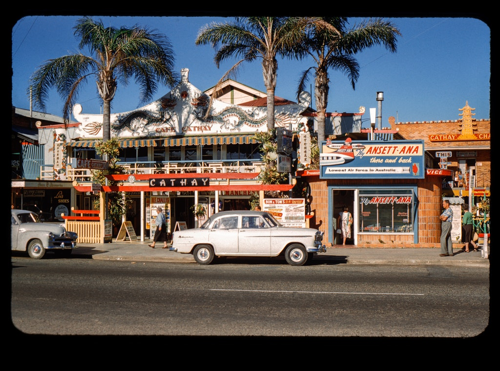 Cafe Cathay - Cafe Cathay, Gold Coast Hightway, Surfers Paradise, 1962