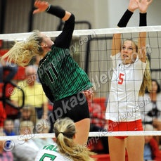 Valpo vs. Crown Point - 9/27/18 - Crown Point was a three set winner over Valparaiso on Thursday evening (9/27) in Crown Point.  You will find 46 images...