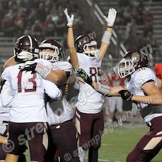 Chesterton vs. Crown Point - 10/5/18 - Chesterton defeated Crown Point 17-14 on a Chris VanEekeren 41 yard field goal in the final seconds on Friday evening...