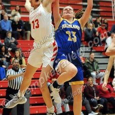 Highland vs. Crown Point - 12/11/18 - Crown Point defeated Highland 68-24 on Tuesday evening (12/11) in Crown Point.  You will find 49 images from the...
