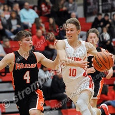 Warsaw vs. Crown Point - 12/15/18 - Crown Point was a 48-41 winner over Warsaw on Saturday evening (12/15) in Crown Point.  You will find 39 game images...