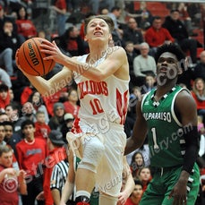 Valpo vs. Crown Point - 2/8/19 - Valpo defeated Crown Point 48-46 as time expired on Friday evening (2/8) in Crown Point.  You will find 57 game images...