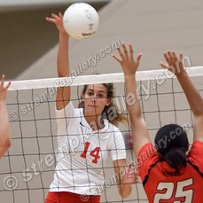 Andrean vs. Crown Point - 8/19/19 - View 58 images from the Andrean vs. Crown Point Volleyball match of 8/19/19.  Crown Point was a three set winner.