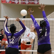 Merrillville vs. Crown Point - 9/19/19 - Crown Point defeated Merrillville in three sets on Thursday evening (9/19) in Crown Point.  You will find 46 images...