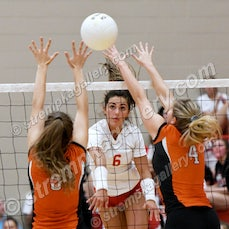LaPorte vs. Crown Point - 9/24/19 - Crown Point defeated LaPorte in five sets on Tuesday evening (9/24) in Crown Point.  You will find 58 images from the...