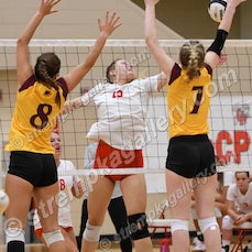Chesterton vs. Crown Point - 9/3/20 - Crown Point was a three set winner over Chesterton on Thursday evening (9/3) in Crown Point.  Scores were:  25-8,...