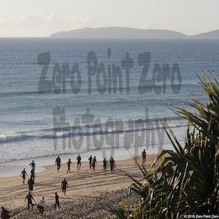 Rainbow Beach Double Triathlon - The Rainbow Beach Double Triathlon held on Saturday 11th and Sunday 12th of August 2016