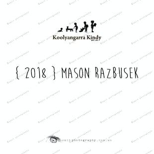 { 2018 } Mason RAZBUSEK