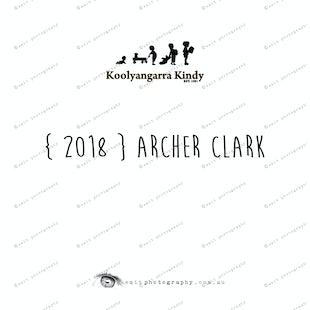 { 2018 } Archer CLARK