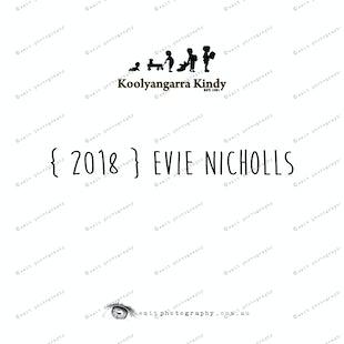 { 2018 } Evie NICHOLLS