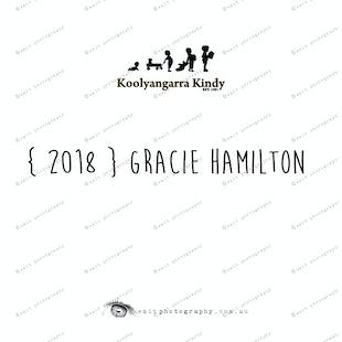 { 2018 } Gracie HAMILTON