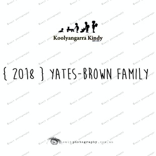 { 2018 }  YATES-BROWN family