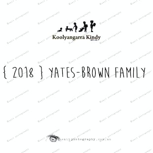 { 2018 }  YATES-BROWN family