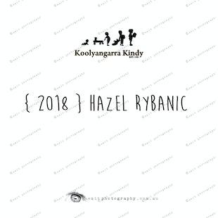 { 2018 } Hazel RYBANIC
