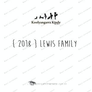 { 2018 } LEWIS family