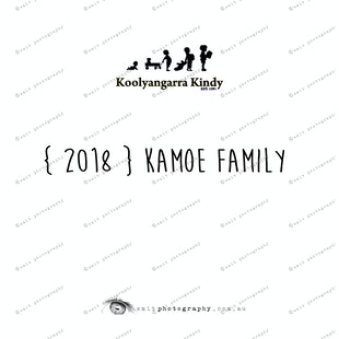 { 2018 } KAMOE family