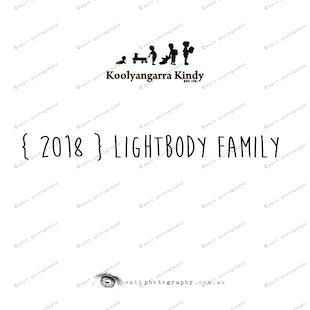 { 2018 } LIGHTBODY family
