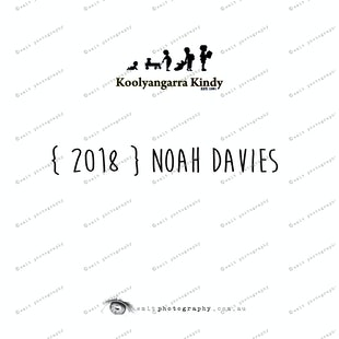 { 2018 } Noah DAVIES
