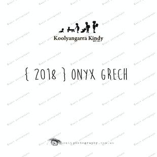 { 2018 } Onyx GRECH