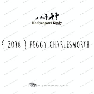 { 2018 } Peggy CHARLESWORTH