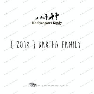 { 2018 } BARTHA family