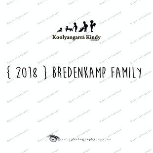 { 2018 } BREDENKAMP family