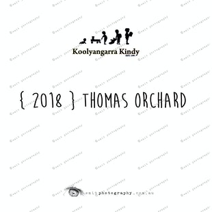 { 2018 } Thomas ORCHARD